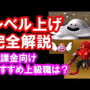 星ドラ 実況「レベル上げのやり方!無課金向けオススメ上級職も紹介!」