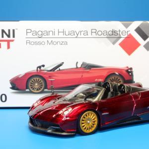 TSM MINI GT パガーニ ウアイラ ロードスター 1/64スケール