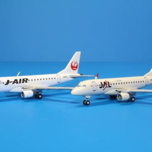 デアゴスティーニ JAL E170 JA211J/JA228J 1/400スケール JAL旅客機Collection 第28巻