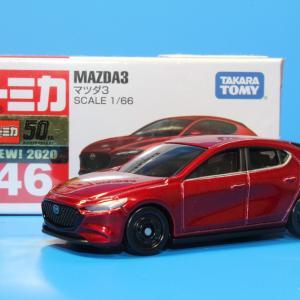 トミカ マツダ Mazda3 No.46 1/66スケール