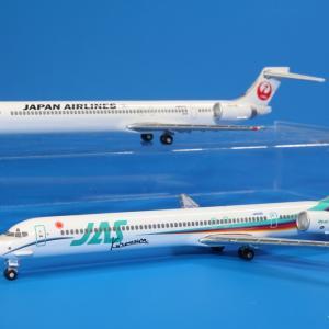 デアゴスティーニ JAS/JAL MD-90 JA006D/JA807D 1/400スケール JAL旅客機Collection 第41巻