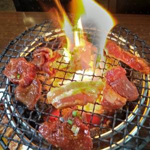 「韓日館焼肉屋」(ジョージタウン)の牛焼肉