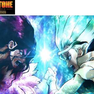 UBビデオで超絶、面白いアニメ「Dr. Stone」発見!