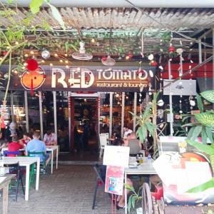 レッドトマトのブランチ(ランカウイ島)
