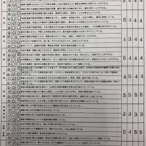 国立に進学した子達の通知表!