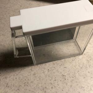 メダカの横見容器を作りましょう!
