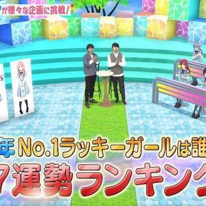 【22/7】運勢ランキング結果まとめ~2020年・2019年~