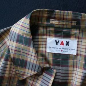 団塊な私─今、VANのマドラス柄のコート