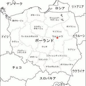 ロシアの飛地 ポーランドとリトアニアの間