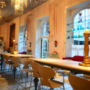 ロイヤルコペンハーゲンの食器づくし♪デンマークにあるRoyal Smushi Cafe 𓇼