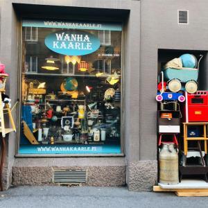 フィンランドのヴィンテージショップWANHA KAARLE (ヴァンハ・カールレ)で北欧食器探し𓇼