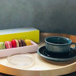 北欧食器ARABIA メリ ブルーの食器でティータイム♪ フィンランドのヴィンテージ食器𓇼