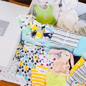 フィンランドのFinnish Baby Box(フィニッシュベイビーボックス)の中身を公開♪ムーミン&北欧デザインのお洋服で赤ちゃんを迎える準備𓇼