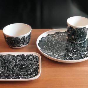 マリメッコの花柄食器クルイェンポルヴィ◎大人気柄の日本限定色ダークグリーン𓇼