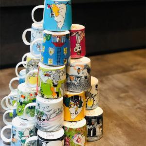 アラビアフィンランドのムーミンマグカップ♪我が家のムーミンマグコレクション 𓇼