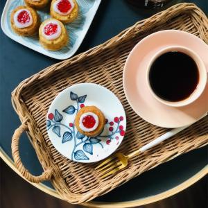 フィンランドの焼菓子 ルーネベリタルトを手作り◎北欧食器と一緒におやつタイム𓇼