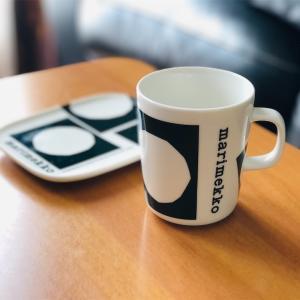 Marimekko Co-created KIVET柄 マグカップ&プレート◎マリメッコ創立70周年記念のコラボ商品𓇼