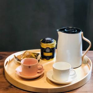 お気に入りの北欧デザイン Stelton ステルトン バキュームジャグ Emma◎デンマークブランドの魔法瓶ティーポット𓇼