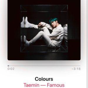 テミンの最新アルバム[FAMOUS]が届いた♬
