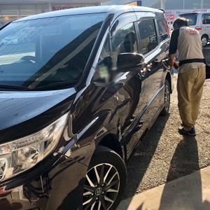 車のガラスコーティングの一年点検(^。^)