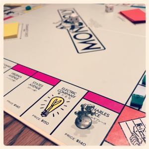 我が家の1つの楽しみ・・・monopoly
