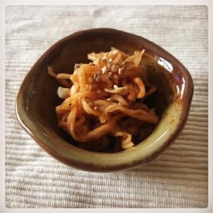 【簡単料理】箸休めに最適!切り干し大根のめんつゆ漬け