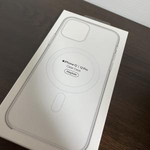 純正iPhone12Proのクリアケースが届いた!