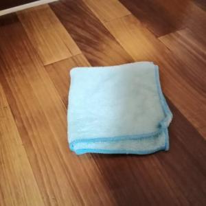 今日のお掃除と...カボチャパン焼けました。