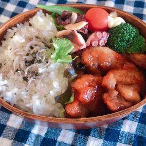 今日のお弁当♬(18w)