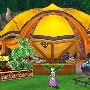 【ハウジング・庭具】今日発売された庭具「砂の都のテント」が素敵過ぎる