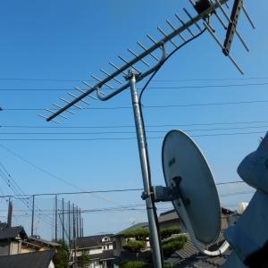 光回線の有料テレビサービスから通常のアンテナ受信へ