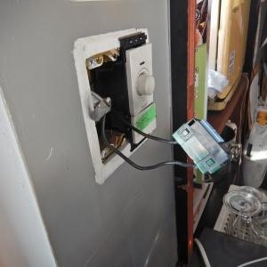 LEDスポットライト点滅の原因は、スイッチの不具合