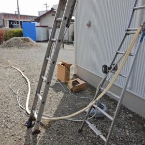 住宅の新築工事に合わせて、7台のエアコンを設置