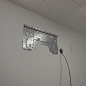 積雪高さを考慮して、寒冷地エアコンを壁掛けで設置