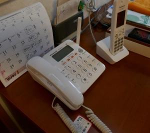 防犯の第一歩は、迷惑電話対策が充実した電話機の交換