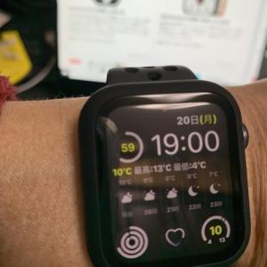 Applewatchのバッテリー消費