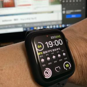 今日のApplewatch5