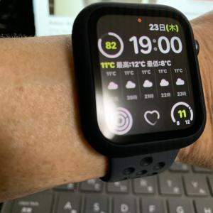 Applewatch5のバッテリー残量報告最終