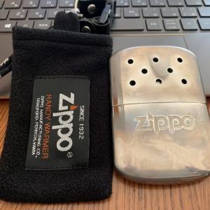 Zippoのオイルカイロ