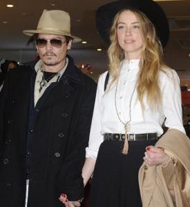 ジョニーデップと元妻アンバー・ハードの相性