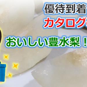 【優待到着】豊水梨が届きました!【カタログギフト】