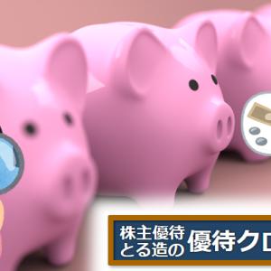 優待クロス8月銘柄リスト/権利付き最終日版