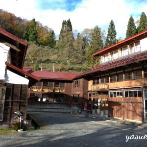 有形文化財・江戸時代の建築物がいまも現役【小谷温泉 山田旅館】