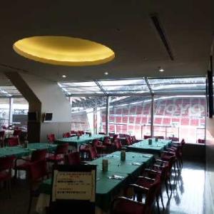 豊田スタジアム内のレストラン(愛知県豊田市)