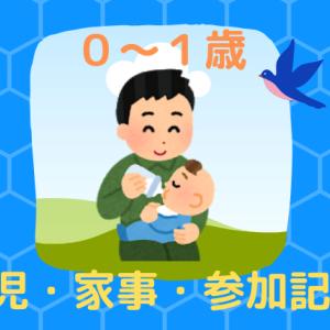 【0~1歳】パパの育児参加記録(記憶)