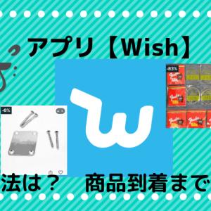 アプリ【Wish】で楽器の小物を買ってみた! ~到着までの日数や支払い方法~