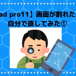 【Ipad pro 11】画面が割れた!  AliExpress(アリエクスプレス)を使って液晶パネルを自分で交換①