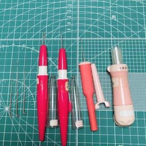 羊毛フェルト 基本の道具と材料