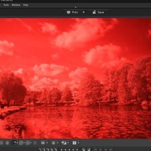 赤外線写真の作り方