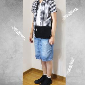 CIAOPANIC TYPY(チャオパニックティッピー)Tシャツ&無印良品白黒ギンガムチェックシャツコーデ